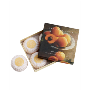 Giftbox-4-soaps-of-75g-Apricot
